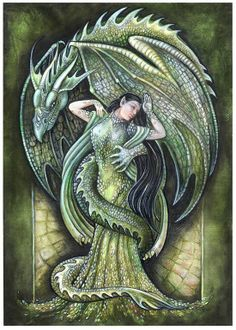 ♥ green dragon