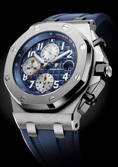 For 2014 Audemars Piguet has updated the 42 mm Royal Oak Offshore, and here is your official rundown. Six versions of the new Royal Oak Offshore models