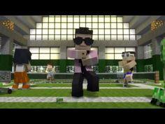 Minecraft Oppa Gangnam Style Parodia