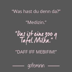 Spruch des Tages #spruch #quote #sprüche #spruchdestages Funny Memes, Jokes, Food Quotes, So True, Funny Cute, Laugh Out Loud, Life Lessons, Decir No, Lol