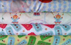Hallmark circus animal fabrics 100 cotton. 4 designs to by JeAdore, $7.50