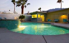 Racquet Club Estates Vacation Rental - VRBO 164863 - 3 BR Palm Springs, North House in CA, Hip, Cool, and Luxurious Mid Century Modern Alexa... $280/nt