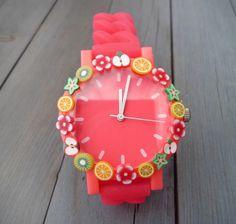 Customisez votre montre ! #DIY http://www.modesettravaux.fr/customisez-montre/