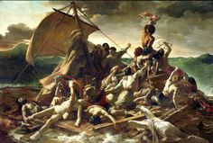 Kafka's ApartmentThe Raft of the Medusa, 1819. Théodore Géricault. Oil on canvas #romanticism#legends#shipwreck#painting#tragedy#peinture#art#pintura#pittura#Malerei