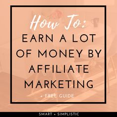 The keys to make a living from affiliate marketing. Affiliate marketing is a great job because you can do it from home, online for free.