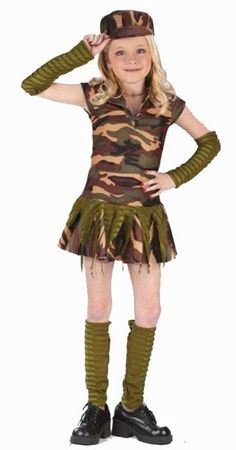 army girl outfit - Boys Army Halloween Costumes