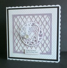 This card was made with tonic studios indulgence soiree party heels and circle base die