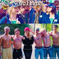 Taylor Swift loves ND!