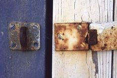 Door in two colours, Røst, Norway