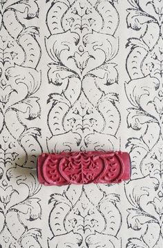 Patterned Paint Roller no. 5 patterned paint roller from the painted house (for fabric