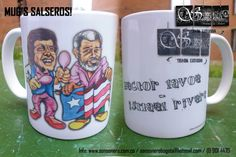 Foto: Mug Salsero - Hector & Maelo Mugs, Tableware, Store, Accessories, Pictures, Dinnerware, Cups, Mug, Dishes