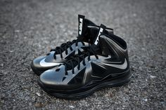 Nike LeBron X - Carbon - New Images | Sole Collector. Carbon...