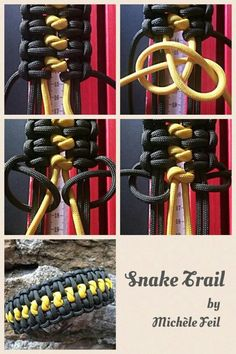 Tutorials by Michèle Feil Paracord bracelet More Related posts: 16 Pretty Bracelet Tutorials DIY Bracelets – Cool Jewelry Making Tutorials for Making Bracelets at Home – Ha… Paracord Tutorial, Paracord Ideas, Swiss Paracord, 550 Paracord, Parachute Cord, Paracord Bracelets, Paracord Braids, Knot Bracelets, Survival Bracelets