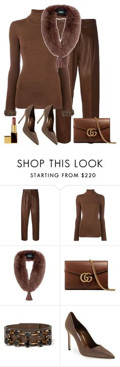 """Untitled #1191"" by styledbyhkc ❤ liked on Polyvore featuring Federica Tosi, Laneus, Holland Cooper, Gucci, Marni, Manolo Blahnik and Tom Ford"