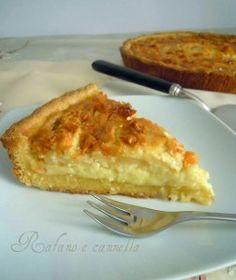 Crostata mele-mandorle