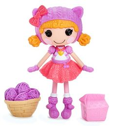 Lalaloopsy Minis Doll- Fluffy Pouncy Paws Lalaloopsy