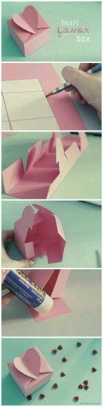 Heart shaped box!