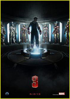 Robert Downey Jr: 'Iron Man 3' Poster!