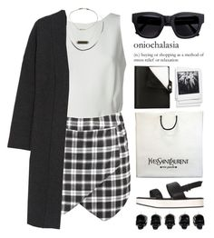 """""""#59"""" by ritaaechelon ❤ liked on Polyvore featuring Alexander Wang, Topshop, Calvin Klein Collection, Polaroid, Acne Studios, D.L. & Co., Hermès, Yves Saint Laurent and Karl Lagerfeld"""