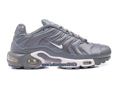buy online 9b8f3 bbc61 Nike Air Max Tn/Tuned Requin 2016 - Chaussures Nike Tn Pas Cher Pour Homme  Argent réfléchissant/Blanc/Bleu-gris 604133-806