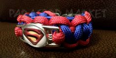 Superman/ Hello Kitty Bracelets by ParacordMarket on Etsy