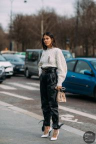 See Every Unforgettable Street Style Outfit From Paris Fashion Week Right Here, Right Now Street Style Chic, Street Style Trends, Autumn Street Style, Street Style Looks, Donatella Versace, The Blonde Salad, Fashion Week, Fashion Outfits, Fashion Trends