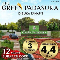 Tahap 1 & 2 SOLD OUT tapi belum dapat hunian di PADASUKA? Tenang sekarang The Green Padasuka dibuka Tahap 3!  Beli NUP untuk dapat HARGA PERDANA! Tersedia Tipe 62/84 STANDARD! 2 Lantai dapat 3 Kamar Tidur!  Info pemesanan hubungi SEGERA 0812 3238 5000 (Telp/WA) Spek dan Pricelist cek di www.ganproperti.com  #house #rumahnyaman #properti #perumahan #property #realestatelife #realestate #rumah #rumahminimalis #rumahku #rumahbandung #perumahanbandung #transstudiomall #website #jualrumah