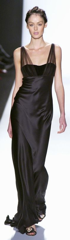 Oscar de la Renta ~ Evening Gown, Black