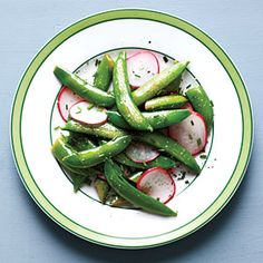 Snap Pea and Radish Sauté Recipe | CookingLight.com #myplate  #vegetables