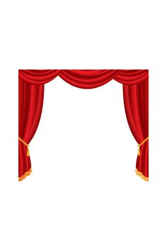 Theatre Curtain Vector Image #hollywood #vector #movie http://www.vectorvice.com/hollywood-vector-pack