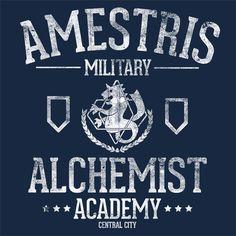 ALCHEMIST ACADEMY T-Shirt | $10 Fullmetal Alchemist T-Shirt at ShirtPunch today only!