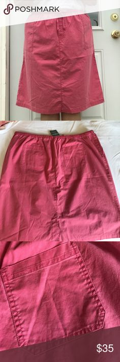 NWT L.L.Bean Dusty Rose Skirt with Pockets SZ 2X NWT L.L.Bean Dusty Rose Skirt with Pockets SZ 2X. Please don't be shy! Feel free to make a ridiculous offer! I won't be offended. I promise! I might counter, and I just might accept, depending on my ever changing mood! God Bless❣️ Happy Poshing❣️ L.L. Bean Skirts