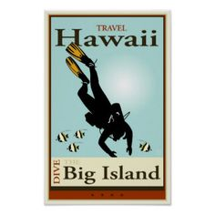 Travel Hawaii Poster