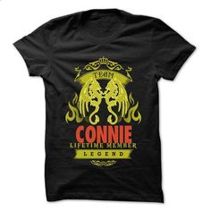 Team CONNIE - 999 Cool Name Shirt ! - #cool shirt #cropped hoodie. BUY NOW => https://www.sunfrog.com/Outdoor/Team-CONNIE--999-Cool-Name-Shirt-.html?68278