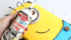 Celebrate with a cute homemade minion cake!