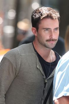 Adam Levine Photos Photos: Adam Levine With Mustache Mustache Men, Moustache, Teenage Love, Beautiful Men Faces, Adam Levine, Zac Efron, Maroon 5, American Singers, Man Crush