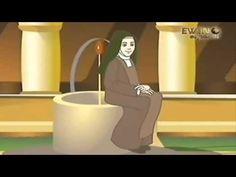 Santa Teresita del niño Jesús - Dibujos animados