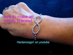 JEWELRY MAKING: how to make an infinity bracelet