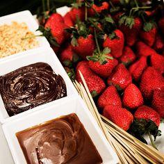 fondue Fondue Recipes, Fondue Ideas, Fondue Restaurant, Pure Romance Party, Raspberry, Strawberry, Fondue Party, Chocolate Fountains, Have Some Fun