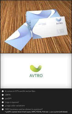 Free Logo Template - Avtro by ~genotas on deviantART
