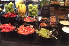 Fresh fruits at the breakfast buffet at W London Leicester Square – London Hotel Experience and Review