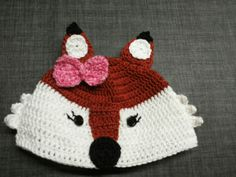 En een vossenmutsje voor een meisje! 😄