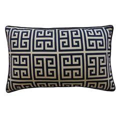 Jiti Riddle Cotton Lumbar Pillow | AllModern