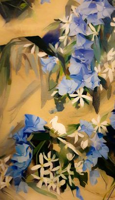 white_rabbit1, by Nicole Lalande, oil
