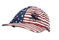 Vintage Hat Anheuser Busch Beer Snapback Cap Adjustable Patriotic USA US Flag  #Budweiser #BaseballCap