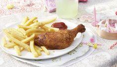 Mit nur zwei Zutaten kannst du herrlich leckere Hähnchenschenkel zubereiten. Wie's geht zeigt dir MAGGI.