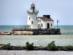 Lighthouse Lake Erie Ohio