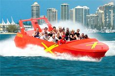 Jet Boat Thrill Ride 55 Minutes - Adult, Surfers Paradise, Gold Coast QLD