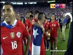 Mira la premiación de Chile como campeones de América
