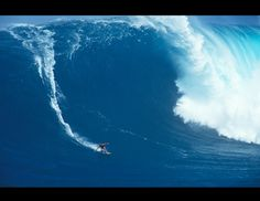 """For her research, Casey enlisted the help of those most familiar with rogue waves -- big-wave surfers, who often risk their lives to conquer some of the ocean's most dangerous waves. Extreme surfer Laird Hamilton, who has surfed waves larger than 100 feet, is a leader in the sport. """"The conditions give you a certain power and a certain strength that you would [not] have if they weren't there,"""" Hamilton, 46, told ABC News' Bob Woodruff. (erikaeder.com)"""